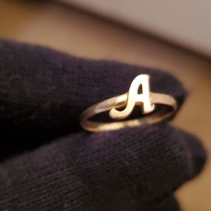 COPY - A Initial ring 10k solid gold